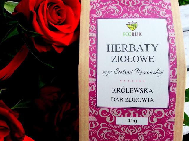 Herbata Ziołowa KRÓLEWSKA Dar Zdrowia