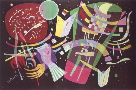 抽象画を生み出した画家、ワシリー・カンディンスキー【a】 コンポジションX