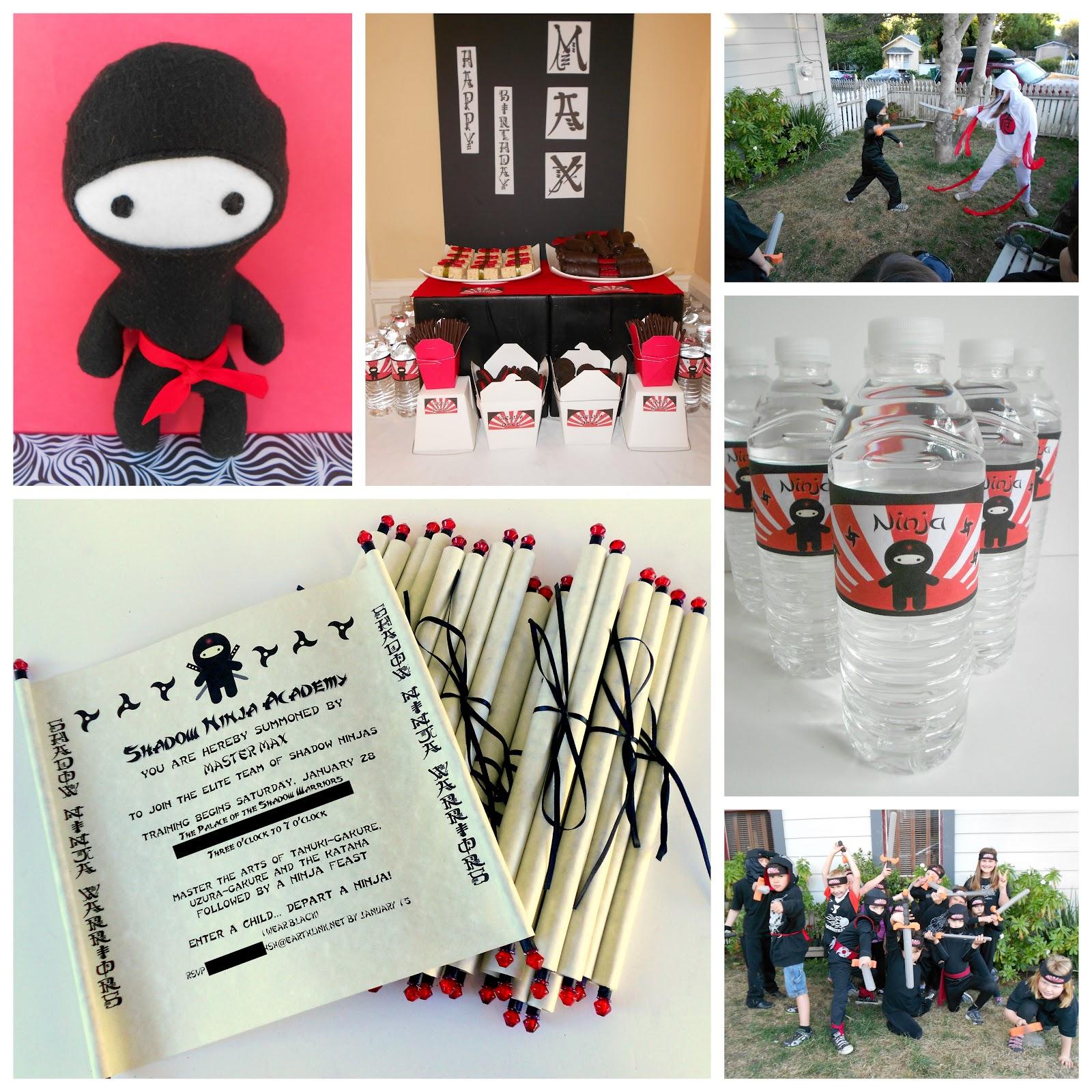 Ninja Birthday Party Decorations