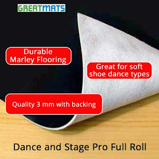 Greatmats dance and stage pro flooring roll