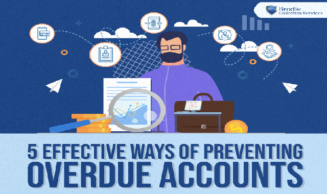 5 Effective Ways of Preventing Overdue Accounts #infographic