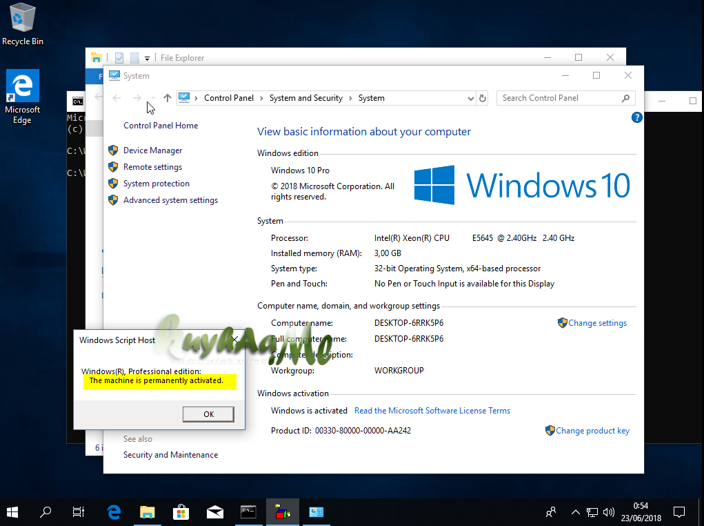 Windows 10 Rs4 permanent