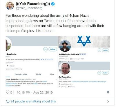 Koide9enisrael: Des dizaines de faux comptes Twitter pour