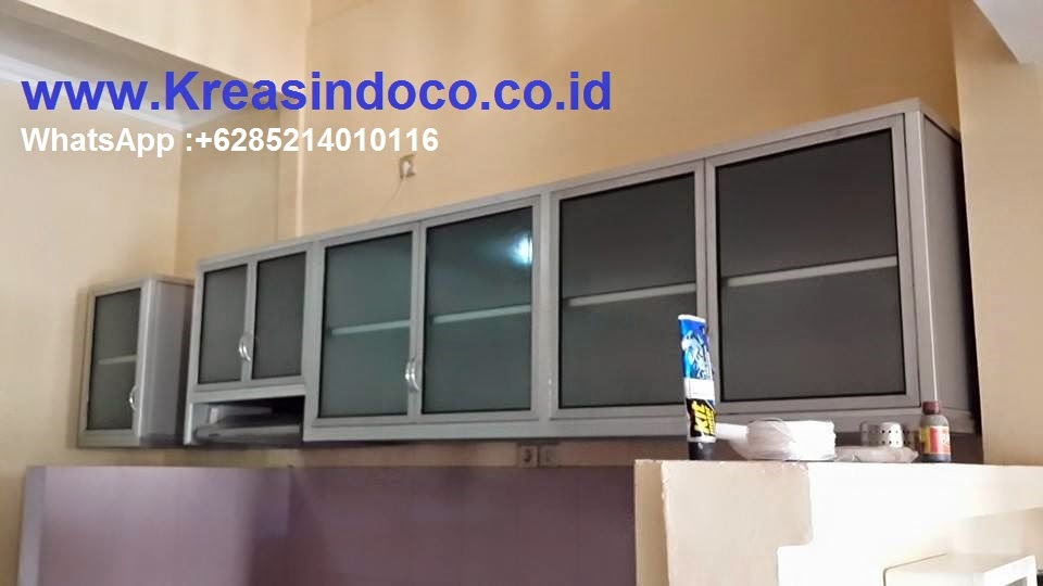 Kitchen Set Aluminium Kombinasi Aluminium Composite Panel