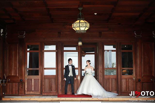 奈良ホテルでの前撮り撮影