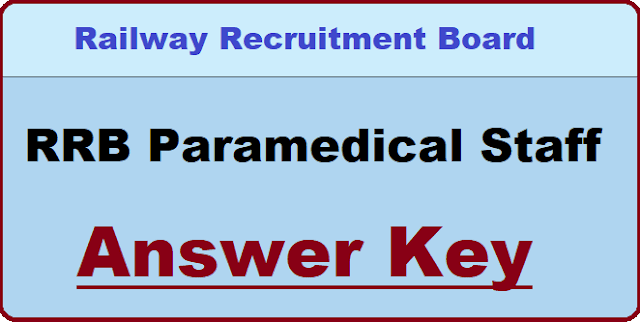 RRB Paramedical Question Paper With Answer key PDF All Shift