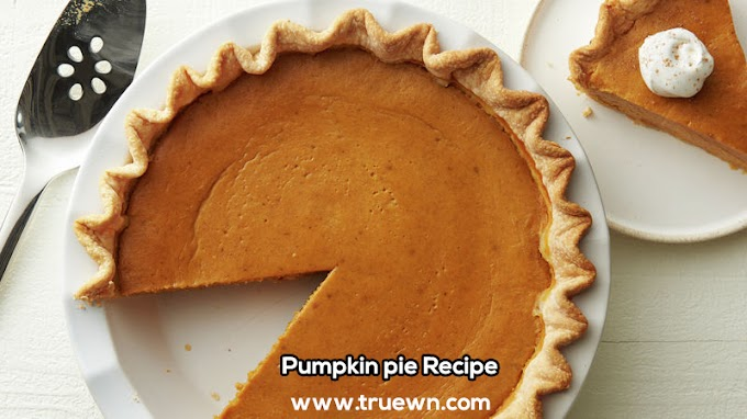 Pumpkin pie Recipe English