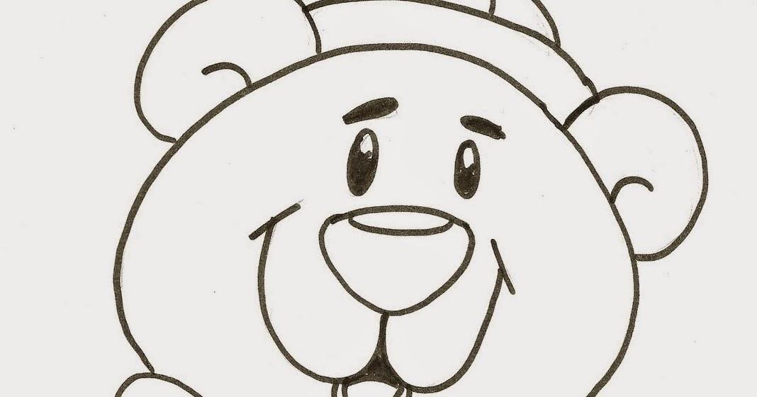 Urso Para Colorir E Pintar 8