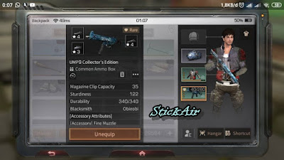 LifeAfter : Tips Crafting UMP9 SMG