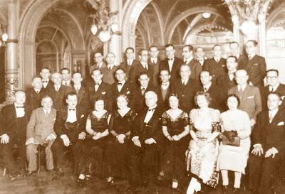 Componentes del club d'Escacs Barcelona en 1932