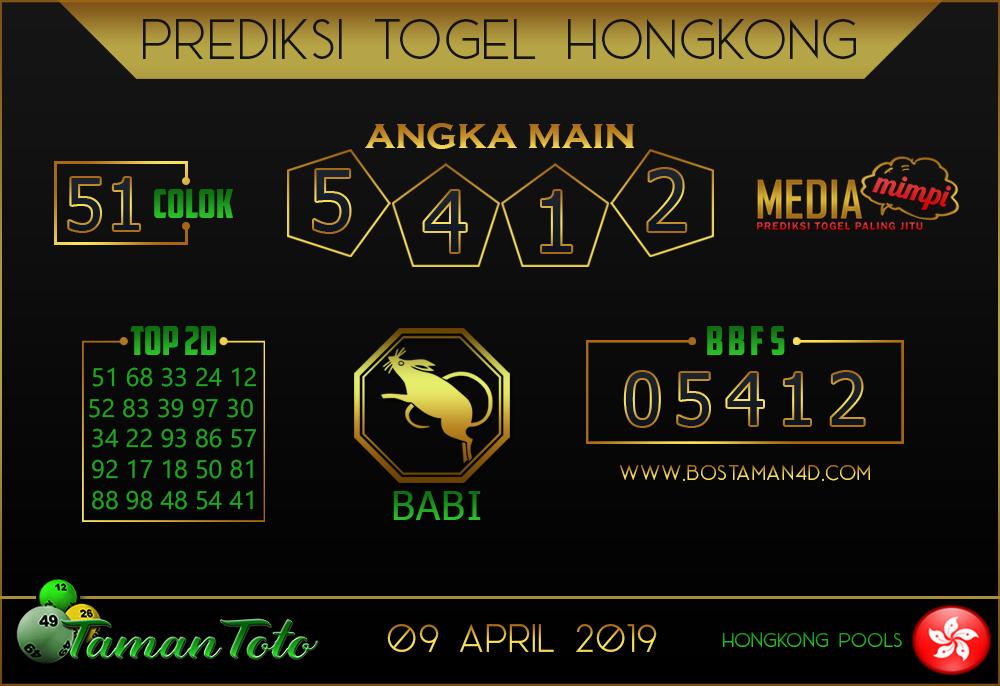 Prediksi Togel HONGKONG TAMAN TOTO 09 APRIL 2019