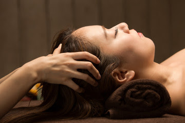 How to increase blood flow in scalp?