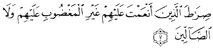 Tafsir Surat Al Fatihah Ayat 7 Shirathalladzina Anamta