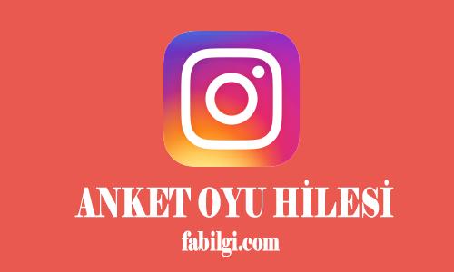 Instagram Anket Oylama Hilesi Şifresiz Yöntem 2021 Yeni