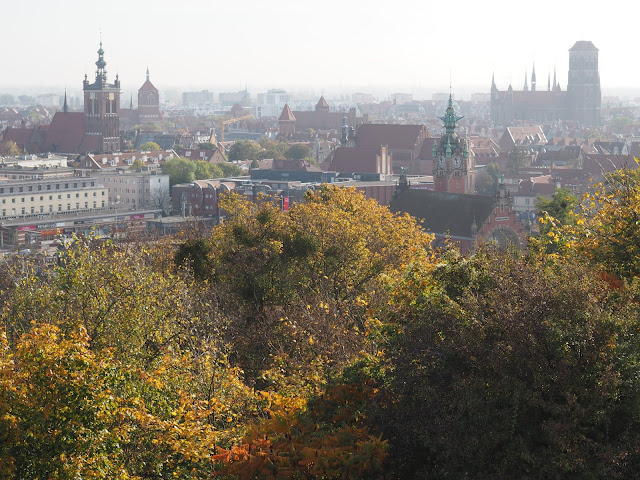 Views over Gdansk from Gora Gradowa