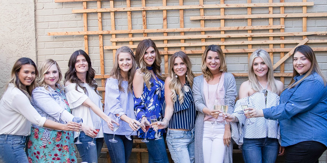 Happy Hour Fun at Cafe J // West Texas Bloggers | beautywithlily.com