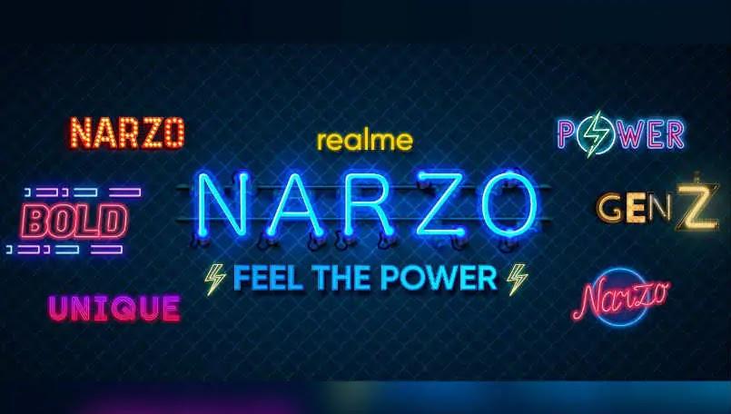 Realme Narzo smartphone