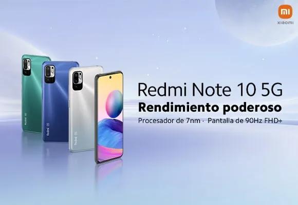 XIAOMI REDMI NOTE 10 5G EN PERÚ