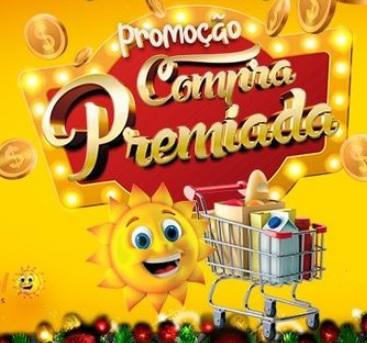 Promoção Compra Premiada Rede Sol Supermercados 2021 Vales-Compras 300 Reais