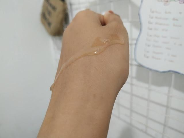 tekstur ebright skin serum