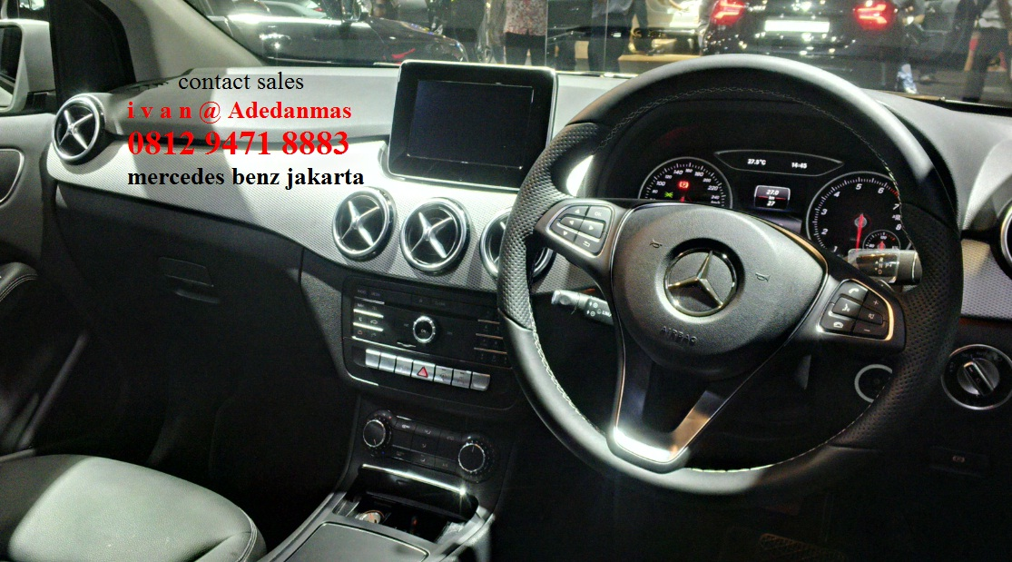 New b class b200 urban fl indonesia dealer mercedes for Mercedes benz service b coupons
