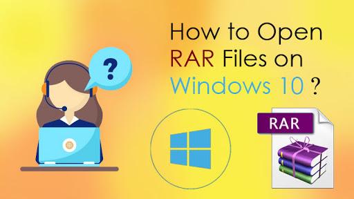 Unable to Open RAR Files in Windows 10?