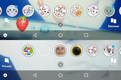مؤثرات صور سناب شات Snapchat