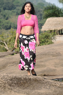 Akshatha Navel Show from Nanbargal Narpani Mandram Movie 7.jpg