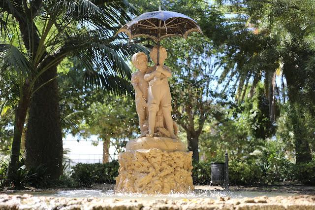Fuente del Parque Genovés de Cádiz