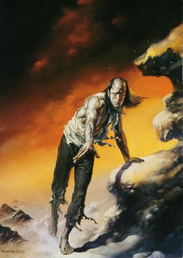 Frankenstein - Obras de Boris Vallejo ~ O melhor no campo da fantasia - Peruano