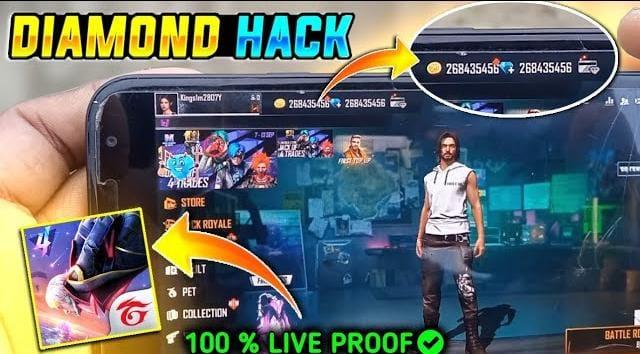 Free fire hack by asli Gangster 😎