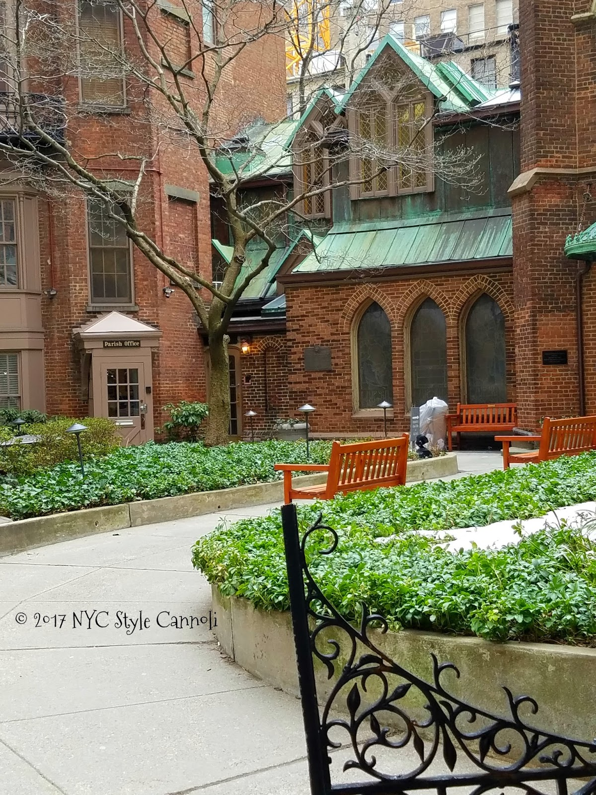The Little Church Around the Corner   NYC, Style & a little Cannoli