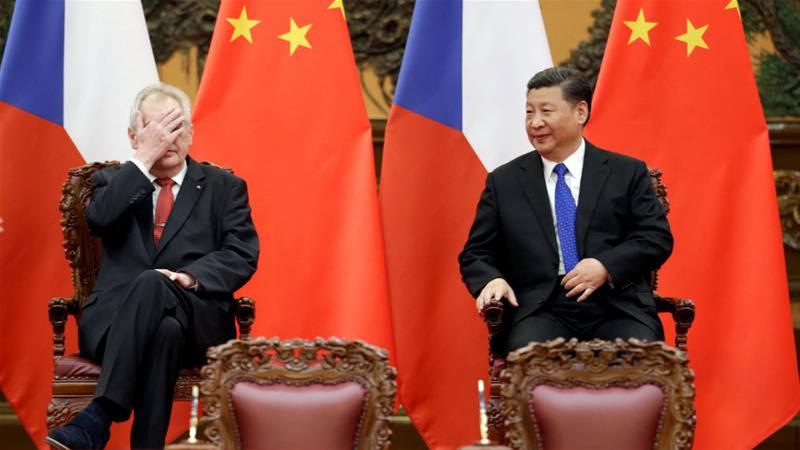 Czech-China love affair hits the rocks