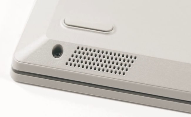 Speakers of Lenovo IdeaPad Slim 3i laptop.