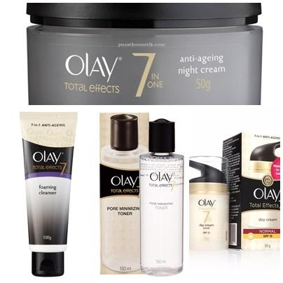 Review Olay Total Effects Skincare Series Menang Giveaway Dari Female Daily Carolline S Beauty Blog