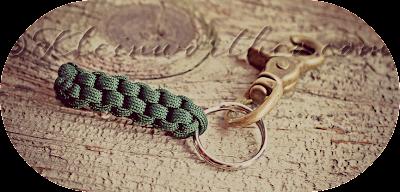 Como hacer un Llavero de Macrame con Cuerda