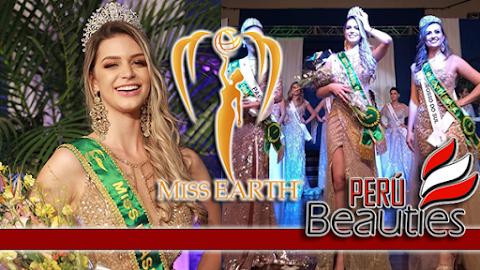 Maria Gabriela Batistela es Miss Earth Brazil 2019