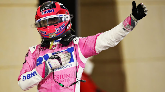 Sergio Perez joins Red Bull