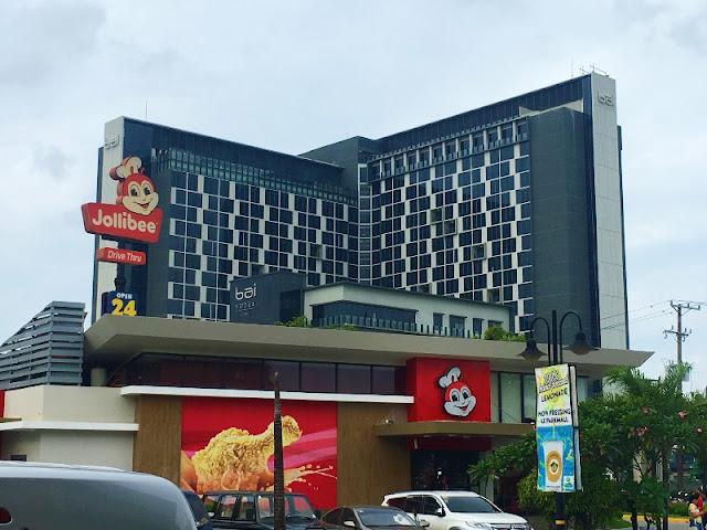 Bai Hotel in Cebu behind Jollibee Parkmall Mandaue