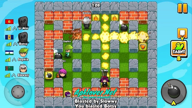 Bomber Friends MOD APK unlimited money