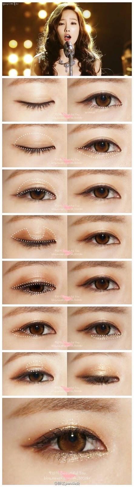 วิธีแต่งตาด้วย Brown Eyeliner