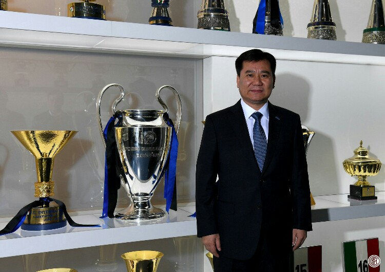 Zhang Jindong, proprietario dell'Inter