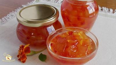 Dulceata din coji de pepene rosu - etapa 7