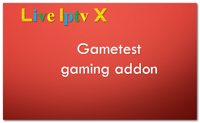 Gametest gaming addon