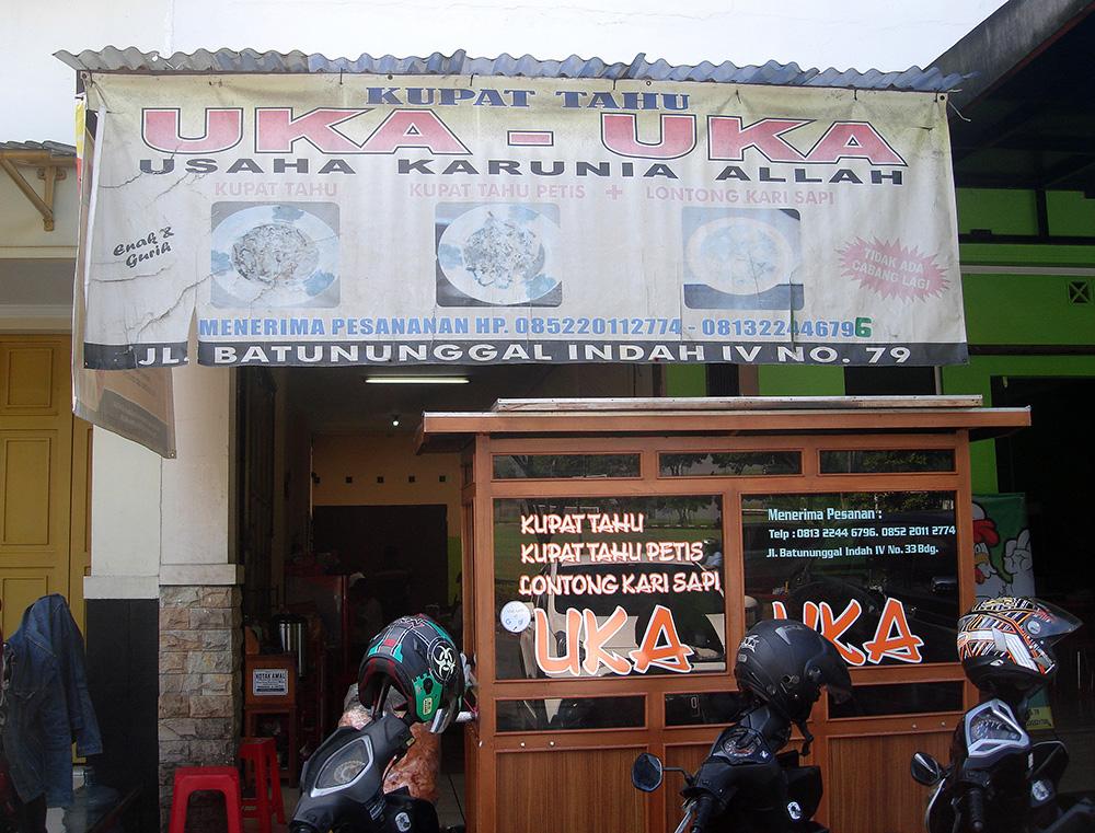Olah Raga Dan Wisata Kuliner Di Komplek Batu Nunggal Indah