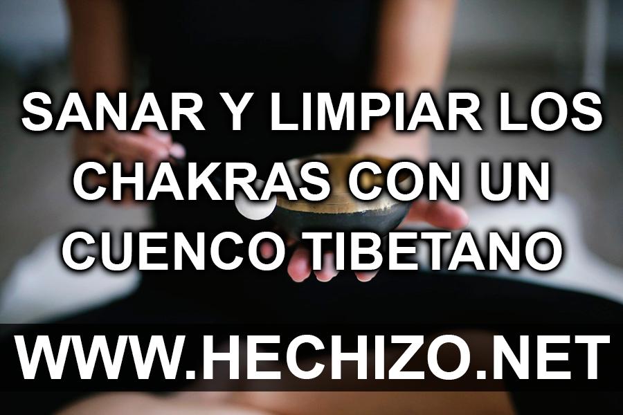 Sanar y limpiar los chakras con cuencos tibetanos