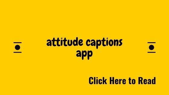Attitude Captions offline App (2020)