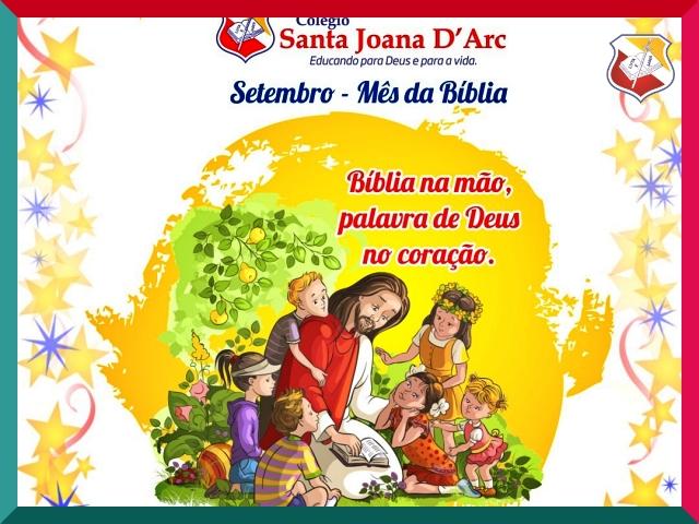 Colégio Santa Joana D'Arc, desenvolve valores cristãos desde cedo!