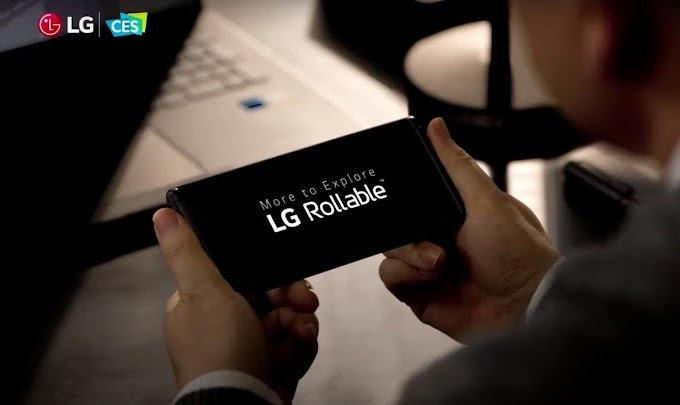 First look at LG Rollable, LG's roll-up mobile