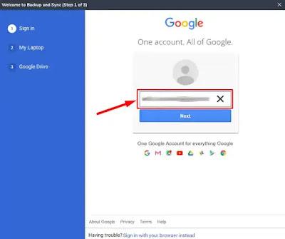 Menambahkan dan Menghapus Google Drive di Navigasi Windows